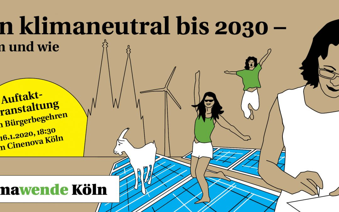 Köln klimaneutral 2030 – warum und wie