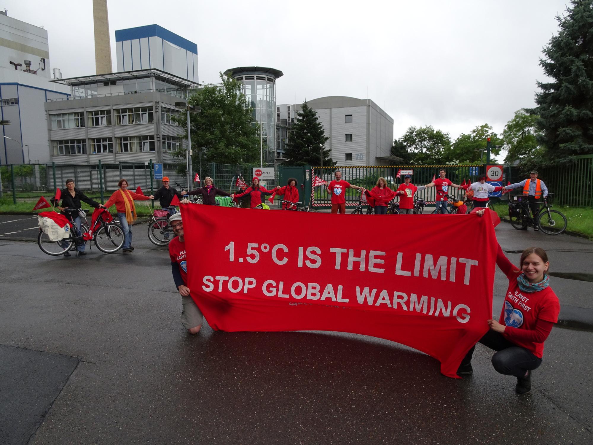 Aktionstag zum Kraftwerk Merkenich 7.6.2020