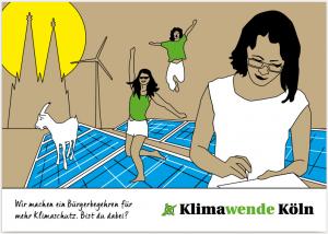 Klimawende Köln - Flyer