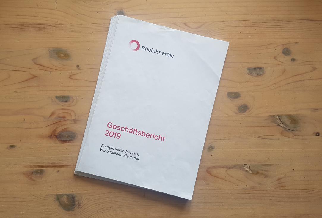 Geschäftsbericht der RheinEnergie