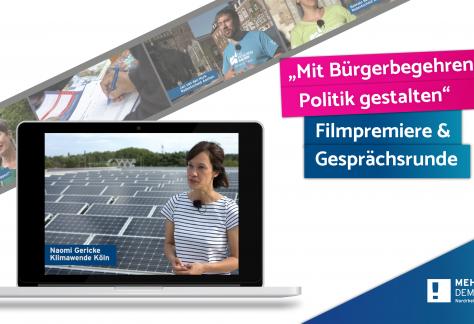 Bürgerbegehrensfilm MehrDemokratie-NRW